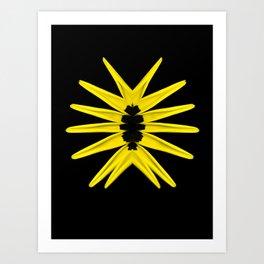 Love trap of Nature (Yellow) Art Print