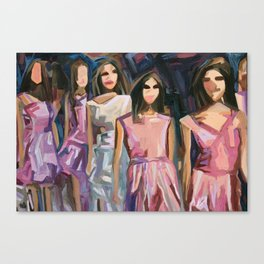 Pink Parade Canvas Print