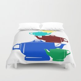 Favoriteware Stacked Pots Duvet Cover