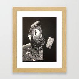 Poisonous Lust Framed Art Print