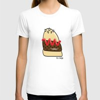 burger T-shirts featuring Burger  by shoobox illustrations
