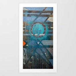 tangled hierarchy, strange loop Art Print