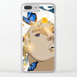 Butterflies Amazon Clear iPhone Case