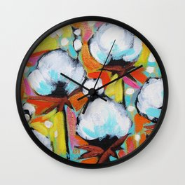 Delta Cotton no.14 Wall Clock