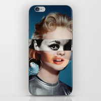 goddess iPhone & iPod Skins featuring Goddess by Alba Blázquez