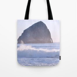 HAYSTACK ROCK - CAPE KIWANDA - PACIFIC CITY - OREGON Tote Bag