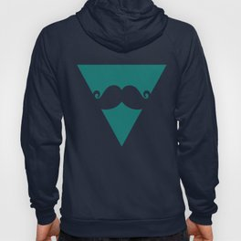 Triangle Moustache  Hoody