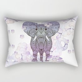 FLOWER SHOWER ELEPHANT Rectangular Pillow