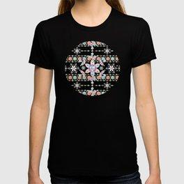 Folkloric Snowflakes T-shirt