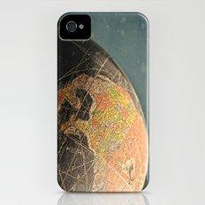 Where I Am (Vintage Globe) Slim Case iPhone (4, 4s)