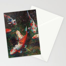 Volunteer Park Koi #5 Stationery Cards