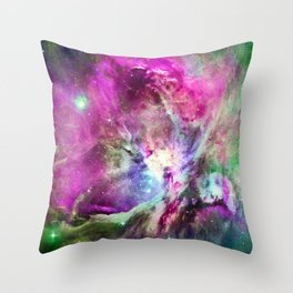 NEBULA ORION HEAVENLY CELESTIAL MIRACLE Throw Pillow