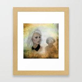 in the shop window -100- Framed Art Print