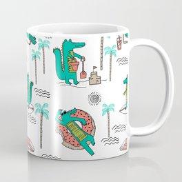 Alligator vacation tropical gator life palm beach socal florida gators Coffee Mug