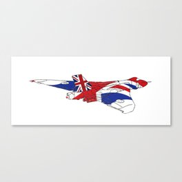 Great British Vulcan Canvas Print