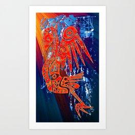 Pariguana Art Print