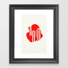 mario! Framed Art Print