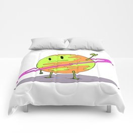Angry Saturn Comforters
