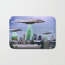 UFO Sightings- KC skyline Bath Mat