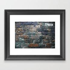 Brick wall Framed Art Print