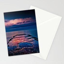 Ashbridges Bay Toronto Canada Dock At Sunrise No 1 Stationery Cards