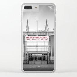 Riverside Stadium Clear iPhone Case