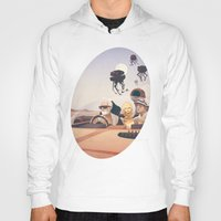 college Hoodies featuring Fear and Loathing on Tatooine by Anton Marrast