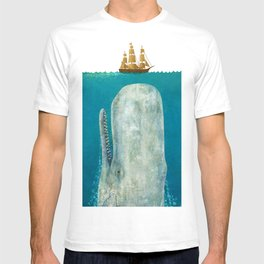 The Whale - colour option T-shirt