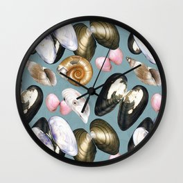 Treasures of the Baltic Sea Wall Clock