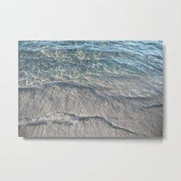 Water Photography Beach Metal Print