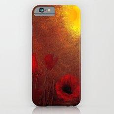 FLOWERS - Poppy heaven iPhone 6s Slim Case