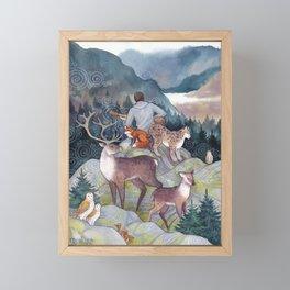 Song of the Forest Framed Mini Art Print