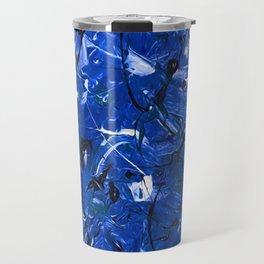 Blue Chaos Travel Mug