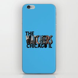 The Watchers of Chicago Illinois Big Letter iPhone Skin