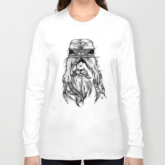 Feel, Peace, Love & Power Long Sleeve T-shirt