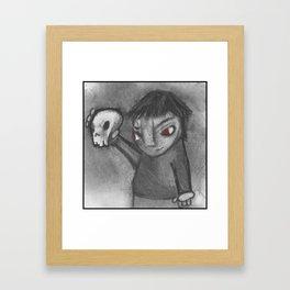 Damien Framed Art Print