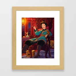 Ching Shih Framed Art Print