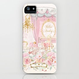 Hello Lovely iPhone Case