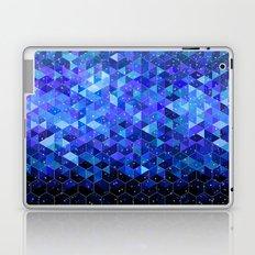 Space blue Laptop & iPad Skin