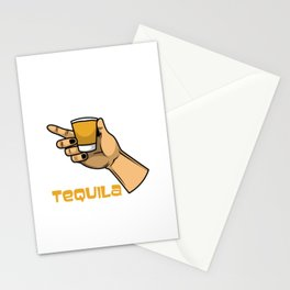Time to drink tequila Stationery Cards