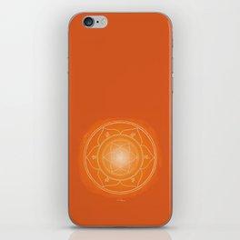 SVADHISTANA Boho mandala iPhone Skin