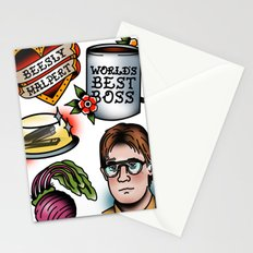 The Office Tattoo Flash Stationery Cards