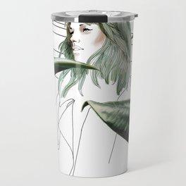 Tropical girl Travel Mug
