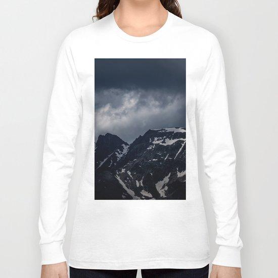 Dark Mountain mood Long Sleeve T-shirt