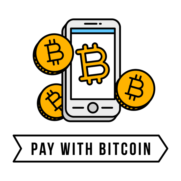 Pay With Bitcoin (Mobile Payments) Icon Comforters