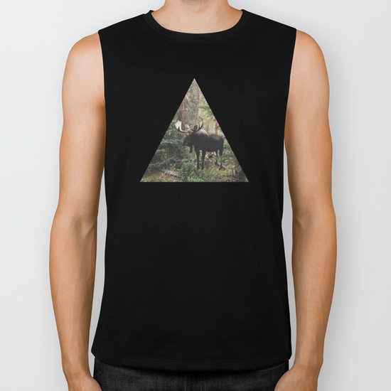 The Modest Moose Biker Tank