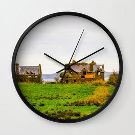 Irish Homestead Wall Clock