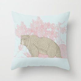 Bear! Throw Pillow
