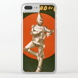 The Tin Man Clear iPhone Case