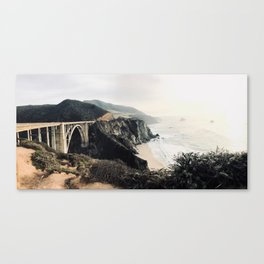 Bixby bridge just before sunset Canvas Print